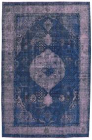 Vintage Heritage Sag 198X303 Autentični  Moderni Ručno Uzlan Tamnoplava/Svjetloljubičasta (Vuna, Perzija/Iran)