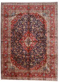 Keshan Sag 296X400 Autentični  Orijentalni Ručno Uzlan Tamnocrvena/Tamnoljubičasta Veliki (Vuna, Perzija/Iran)