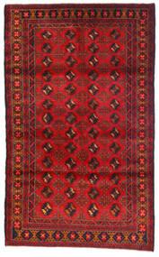 Beluch Sag 115X185 Autentični Orijentalni Ručno Uzlan Tamnocrvena/Hrđavo Crvena (Vuna, Afganistan)