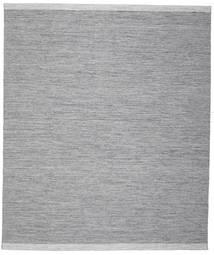 Serafina - Tamnosiva Crna Melange Sag 250X300 Autentični  Moderni Ručno Tkani Svjetloplava/Svjetlosiva Veliki (Vuna, Indija)