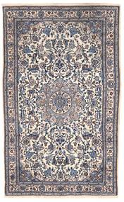 Nain Sag 151X255 Autentični  Orijentalni Ručno Uzlan Tamnosiva/Bež (Vuna, Perzija/Iran)