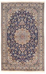 Nain Sag 155X250 Autentični  Orijentalni Ručno Uzlan Tamnosiva/Tamnosmeđa (Vuna, Perzija/Iran)