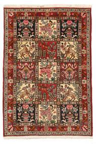 Bakhtiari Collectible Sag 103X150 Autentični Orijentalni Ručno Uzlan Tamnosmeđa/Svjetlosmeđa (Vuna, Perzija/Iran)