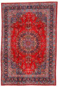 Mashad Sag 198X295 Autentični Orijentalni Ručno Uzlan Tamnocrvena/Hrđavo Crvena (Vuna, Perzija/Iran)