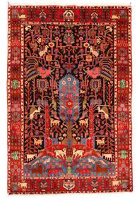 Nahavand Old Sag 165X247 Autentični Orijentalni Ručno Uzlan Tamnocrvena/Bež (Vuna, Perzija/Iran)