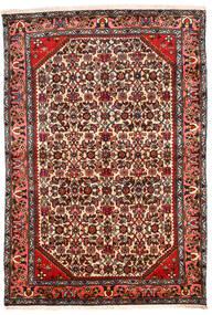 Hamadan Sag 131X194 Autentični  Orijentalni Ručno Uzlan Tamnosmeđa/Bež (Vuna, Perzija/Iran)