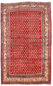 Arak Sag 125X205 Autentični  Orijentalni Ručno Uzlan Tamnocrvena/Grimizno Crvena (Vuna, Perzija/Iran)