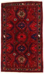 Hamadan Sag 136X224 Autentični  Orijentalni Ručno Uzlan Tamnocrvena/Grimizno Crvena (Vuna, Perzija/Iran)