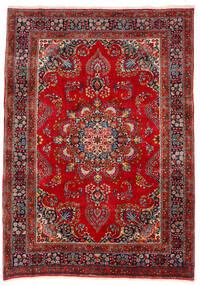 Mashad Sag 201X283 Autentični  Orijentalni Ručno Uzlan Tamnocrvena/Hrđavo Crvena (Vuna, Perzija/Iran)