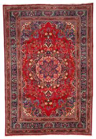 Mashad Sag 199X297 Autentični Orijentalni Ručno Uzlan Tamnocrvena/Tamnosmeđa (Vuna, Perzija/Iran)