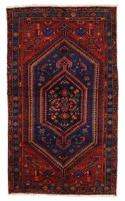 Zanjan Sag 139X239 Autentični  Orijentalni Ručno Uzlan Tamnoplava/Tamnocrvena (Vuna, Perzija/Iran)