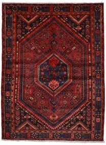 Zanjan Sag 155X206 Autentični  Orijentalni Ručno Uzlan Tamnocrvena (Vuna, Perzija/Iran)