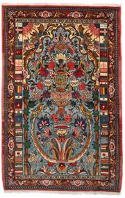 Bakhtiari Collectible Sag 103X158 Autentični Orijentalni Ručno Uzlan Tamnosmeđa/Tamna Tirkizna (Vuna, Perzija/Iran)