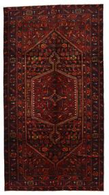 Zanjan Sag 149X278 Autentični  Orijentalni Ručno Uzlan Tamnocrvena (Vuna, Perzija/Iran)