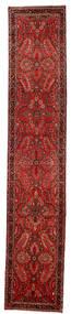 Lillian Sag 80X418 Autentični Orijentalni Ručno Uzlan Staza Za Hodnik Tamnocrvena/Tamnosmeđa/Hrđavo Crvena (Vuna, Perzija/Iran)