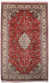 Kashmir Čista Svila Sag 97X158 Autentični  Orijentalni Ručno Uzlan Tamnocrvena/Tamnosmeđa (Svila, Indija)
