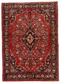 Mehraban Sag 149X208 Autentični Orijentalni Ručno Uzlan Tamnocrvena/Tamnosmeđa (Vuna, Perzija/Iran)