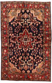 Mahal Sag 137X213 Autentični  Orijentalni Ručno Uzlan Tamnocrvena/Tamnosmeđa (Vuna, Perzija/Iran)