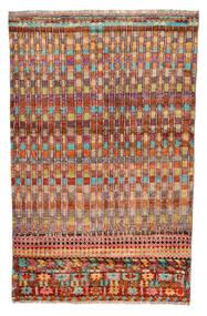 Moroccan Berber - Afghanistan Sag 110X177 Autentični  Moderni Ručno Uzlan Tamnocrvena/Grimizno Crvena (Vuna, Afganistan)