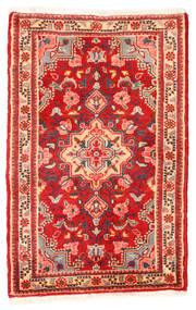 Lillian Sag 48X75 Autentični  Orijentalni Ručno Uzlan Hrđavo Crvena/Svjetloružičasta (Vuna, Perzija/Iran)