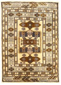 Turkaman Sag 60X85 Autentični Orijentalni Ručno Uzlan Svjetlosmeđa/Bež (Vuna, Perzija/Iran)