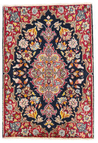 Kerman Sag 58X85 Autentični  Orijentalni Ručno Uzlan Tamnosiva/Bijela/Krem (Vuna, Perzija/Iran)