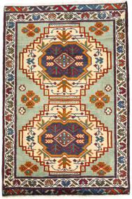 Turkaman Sag 59X89 Autentični Orijentalni Ručno Uzlan Tamnosiva/Bež (Vuna, Perzija/Iran)