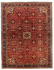 Hosseinabad Sag 149X218 Autentični Orijentalni Ručno Uzlan Tamnosmeđa/Tamnocrvena (Vuna, Perzija/Iran)