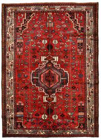 Hamadan Sag 148X208 Autentični Orijentalni Ručno Uzlan Hrđavo Crvena/Tamnocrvena (Vuna, Perzija/Iran)