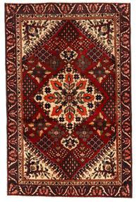 Bakhtiari Sag 125X195 Autentični  Orijentalni Ručno Uzlan Tamnosmeđa/Tamnocrvena (Vuna, Perzija/Iran)