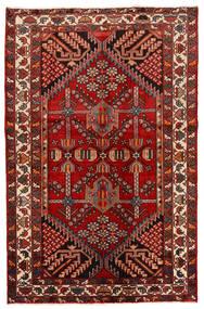Rudbar Sag 130X200 Autentični  Orijentalni Ručno Uzlan Tamnocrvena/Hrđavo Crvena (Vuna, Perzija/Iran)