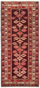 Ćilim Karabakh Sag 132X303 Autentični Orijentalni Ručno Tkani Staza Za Hodnik Tamnocrvena/Hrđavo Crvena (Vuna, Azerbajdžan/Rusija)