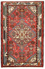 Hamadan Sag 82X125 Autentični Orijentalni Ručno Uzlan Crna/Tamnosmeđa (Vuna, Perzija/Iran)