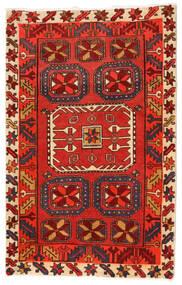 Ardebil Sag 74X107 Autentični Orijentalni Ručno Uzlan Tamnosmeđa/Tamnocrvena (Vuna, Perzija/Iran)