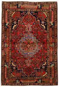 Koliai Sag 104X155 Autentični Orijentalni Ručno Uzlan Tamnosmeđa/Hrđavo Crvena (Vuna, Perzija/Iran)