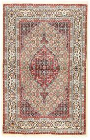 Moud Sag 96X194 Autentični  Orijentalni Ručno Uzlan Smeđa/Tamna Bež (Vuna/Svila, Perzija/Iran)