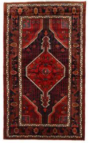 Hamadan Sag 133X226 Autentični Orijentalni Ručno Uzlan Tamnosmeđa/Tamnocrvena (Vuna, Perzija/Iran)