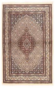 Moud Sag 96X153 Autentični  Orijentalni Ručno Uzlan Bež/Tamnocrvena (Vuna/Svila, Perzija/Iran)
