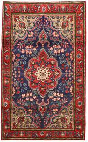 Tabriz Sag 100X165 Autentični Orijentalni Ručno Uzlan Hrđavo Crvena/Tamnosiva (Vuna, Perzija/Iran)