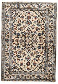 Keshan Sag 103X146 Autentični  Orijentalni Ručno Uzlan Bež/Crna/Svjetlosiva (Vuna, Perzija/Iran)