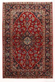 Keshan Sag 97X147 Autentični Orijentalni Ručno Uzlan Tamnocrvena/Bež (Vuna, Perzija/Iran)