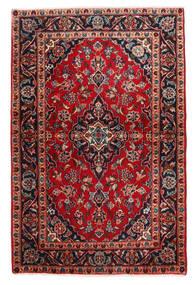 Keshan Sag 98X148 Autentični  Orijentalni Ručno Uzlan Tamnosmeđa/Tamnocrvena (Vuna, Perzija/Iran)