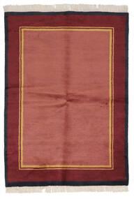 Gabbeh Indo Sag 137X196 Autentični  Moderni Ručno Uzlan Grimizno Crvena/Tamnocrvena (Vuna, Indija)