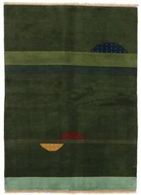 Gabbeh Indo Sag 145X199 Autentični  Moderni Ručno Uzlan Tamnozelena (Vuna, Indija)