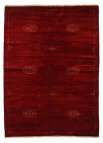 Huttan Sag 142X195 Autentični  Orijentalni Ručno Uzlan Tamnocrvena/Tamnosmeđa (Vuna, Pakistan)