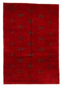 Huttan Sag 125X183 Autentični Orijentalni Ručno Uzlan Tamnocrvena (Vuna, Pakistan)