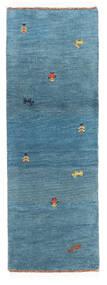 Gabbeh Indo Sag 61X175 Autentični Moderni Ručno Uzlan Staza Za Hodnik Plava/Tirkizno Plava (Vuna, Indija)