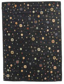 Gabbeh Indo Sag 173X240 Autentični  Moderni Ručno Uzlan Crna (Vuna, Indija)