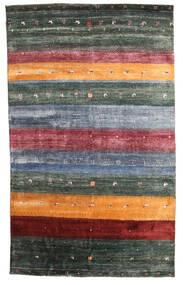 Gabbeh Loribaft Sag 145X236 Autentični Moderni Ručno Uzlan Tamnosiva/Plava (Vuna, Indija)