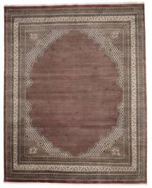 Mir Indo Sag 307X386 Autentični  Orijentalni Ručno Uzlan Tamnosmeđa/Tamnocrvena Veliki (Vuna, Indija)